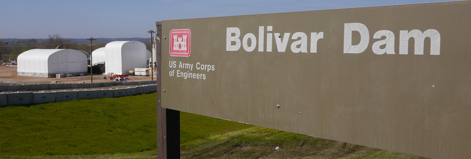 THE U.S. ARMY CORPS OF ENGINEERS, HUNTINGTON DISTRICT, HAS AWARDED TREVIICOS THE CONSTRUCTION OF THE SEEPAGE BARRIER AT BOLIVAR DAM IN OHIO Treviiicos